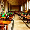 Study Room at the Boston Public Library