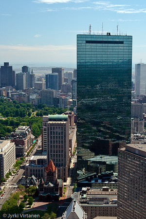Boston from the Prudential Tower - Boston, MA, USA
