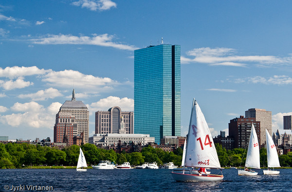 Boston from Charles River - Boston, MA, USA