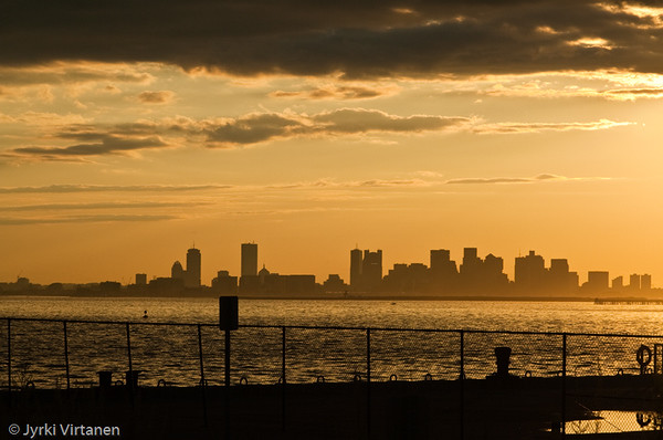Boston from Deer Island - Boston, MA, USA