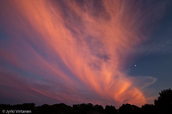 Clouds after Sunset, Jamaica Plain - Boston, MA, USA