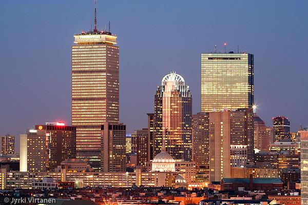 Boston after Sunset II - Boston, MA, USA