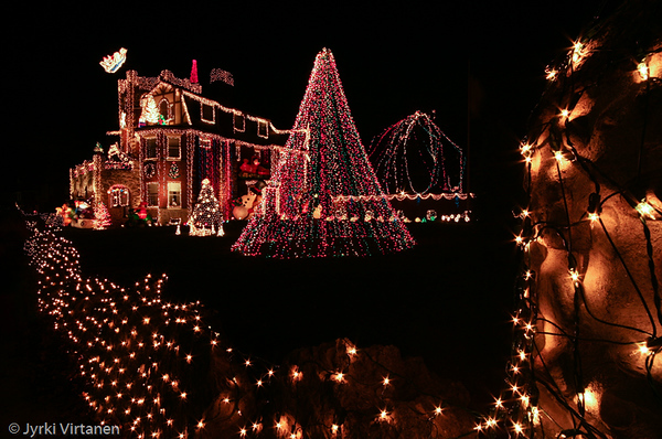 Jamaica Plain Christmas Lights - Boston, MA, USA