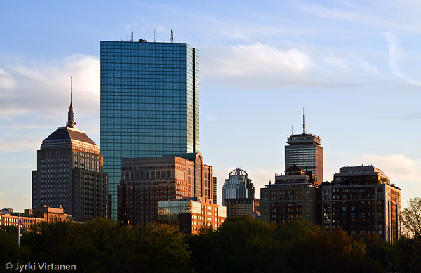 Copley Square Buildings - Boston, MA, USA