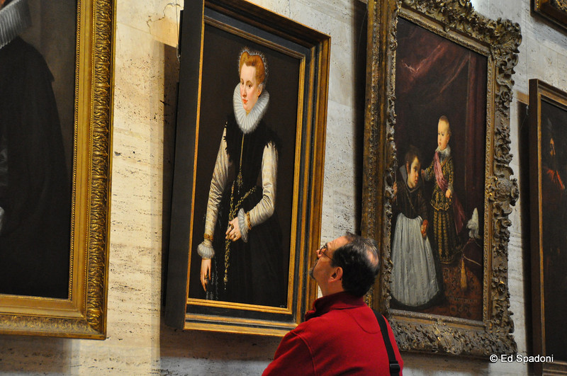 "Admiring ""Portrait of a Woman"" by Frans Pourbus, 1581<br /> <br /> By Claire"