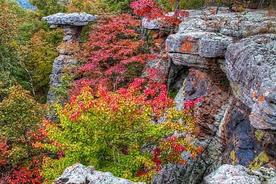 Pedestal Rock in Fall Colors