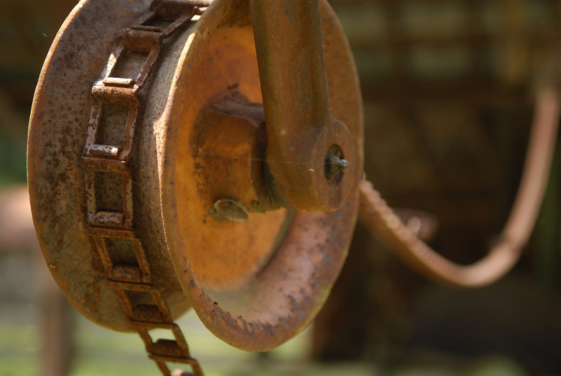 Sawmill Pulley and Chain III