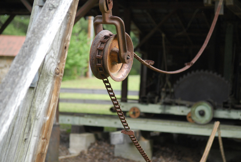 Sawmill Pulley and Chain II