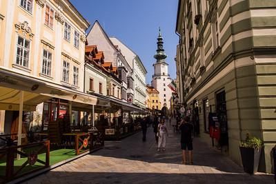 Michalska, St Michael's gate, Bratislava, Slovakia