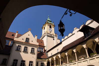 Archbishop's house, behind the Old Square, Bratislava