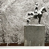 Title: Gálvez in the Snow<br /> Date: February 2007<br /> Statue of Bernardo de Gálvez y Madrid, Count of Gálvez near the State Department building in NW DC.