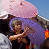 Title: To Haggle<br /> Date: April 2010<br /> A street vendor during the 2010 Sakura Matsuri Street Festival in DC.