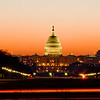 Title: On the Move<br /> Date: March 2009<br /> The United States Capitol Building at sun rise.