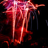 Title: Cheverly Day 2008<br /> Date: May 2008<br /> Cheverly Day fireworks in 2008.