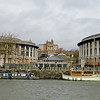 Bristol city centre and harbour