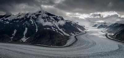 The Salmon Glacier. Alaska.