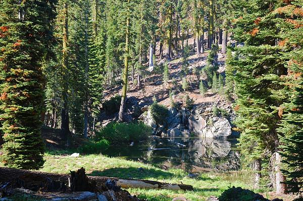 Brokeoff Mt  Lassen Park