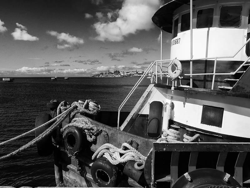 Tug at St Kitts