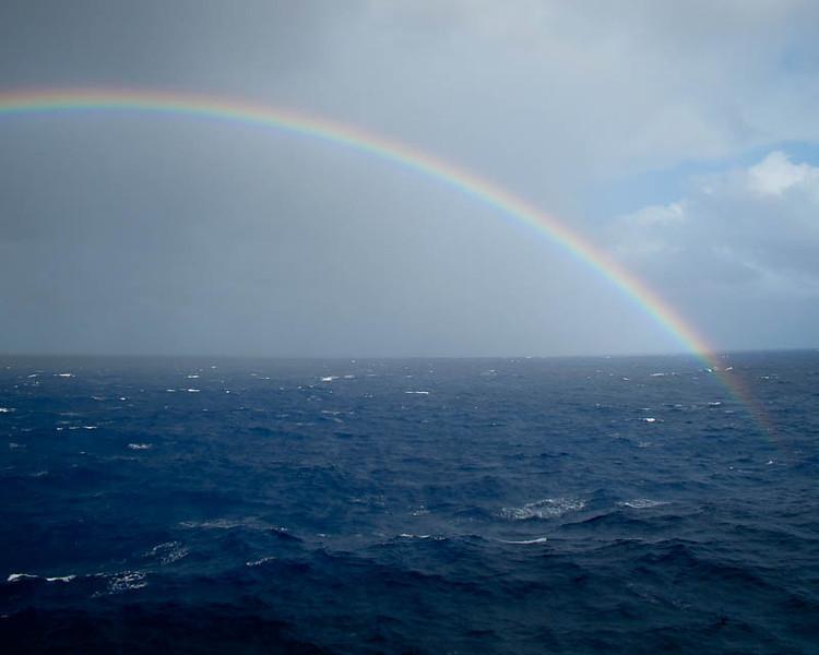 A sign of good sailing