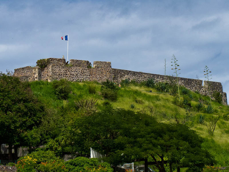 Fort St. Louis on St. Martin