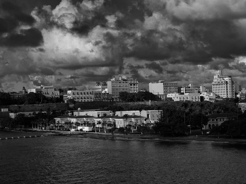 San Juan at dusk