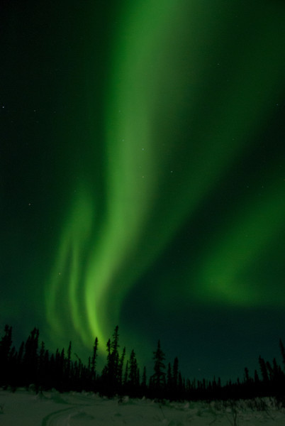Aurora at Iniakuk Lodge