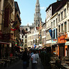 Street in Brussels Belgium