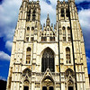St Michael and St Gudula Cathedral in Brussels