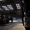 Depot d' autobus des annees '48-'50 en beton arme. Aout 2009