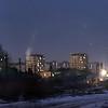 """Voies de garage derriere de la station ferroviare """"Basarab"""", une des plus frequentees de Bucarest. 2003"""