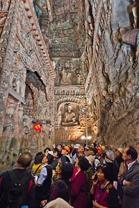 Cave 6, Yungang Grottoes,  Datong, Shanxi Province