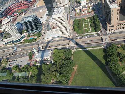 Shadow on the St. Louis Arch