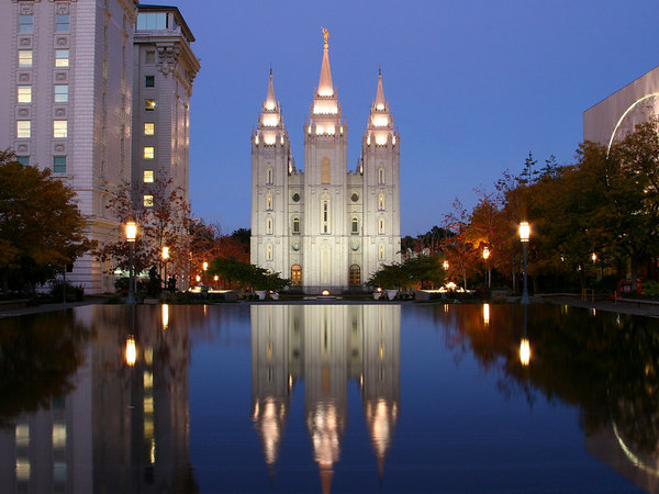 LDS Temple in Salt Lake City
