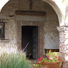Capistrano mission doorway
