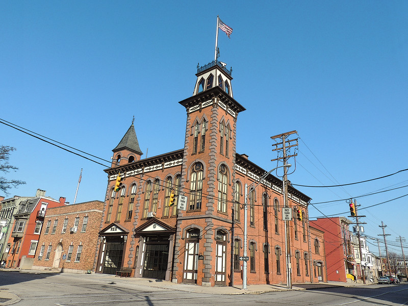 An Iconic Fire Station