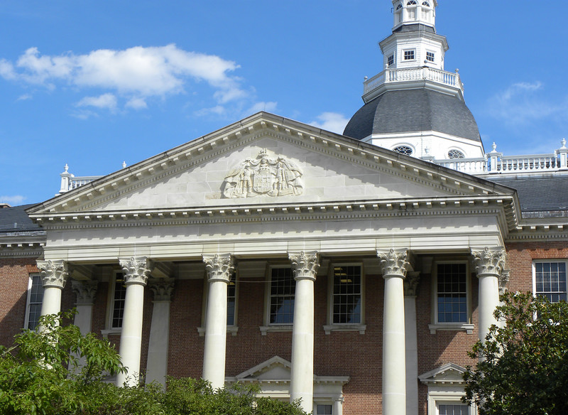 Maryland State House close-up