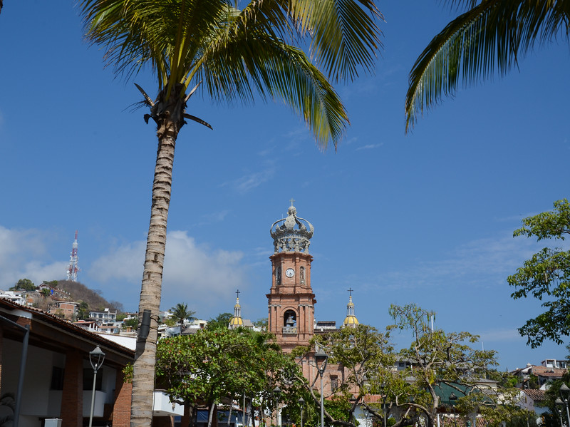 Trees and Churches, Puerto Vallarta Style