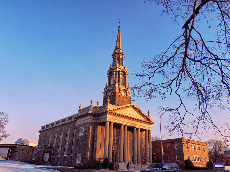 St. Matthew's in the Morning Light