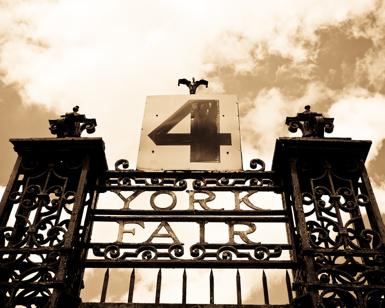 York Fair No. 4 (sepia)