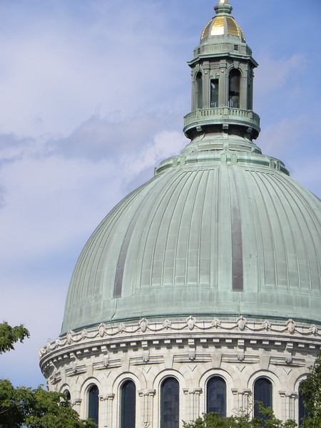 Navy chapel dome close-up