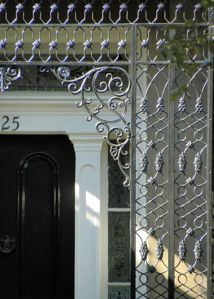 Iron entrance