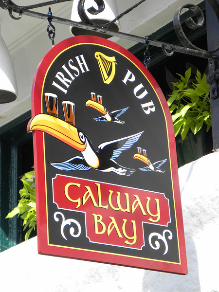 Galway Bay pub sign