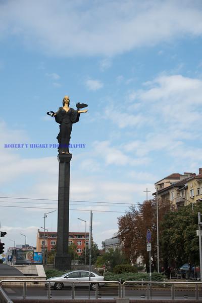 Momument to the Deity All-Holy Sofia