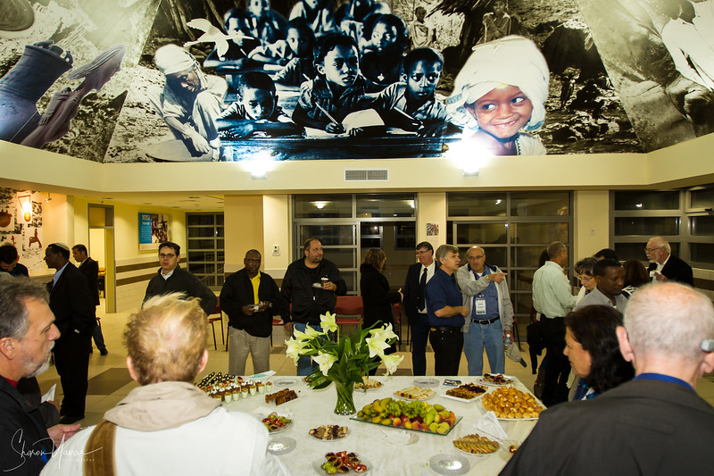 Business Event Photography - Gathering at the Ethiopian Center
