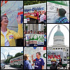 Nuns on the Bus stop in St. Louis Summer 2015