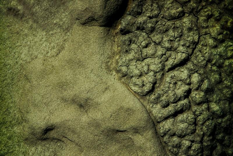 Sandstone. Bisti Badlands, New Mexico.<br /> Photo © Carl Clark