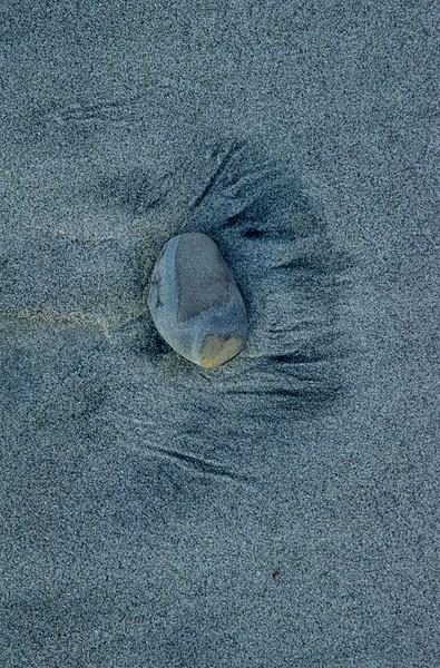 Rock and sand. Hug Point, Oregon.<br /> Photo © Carl Clark