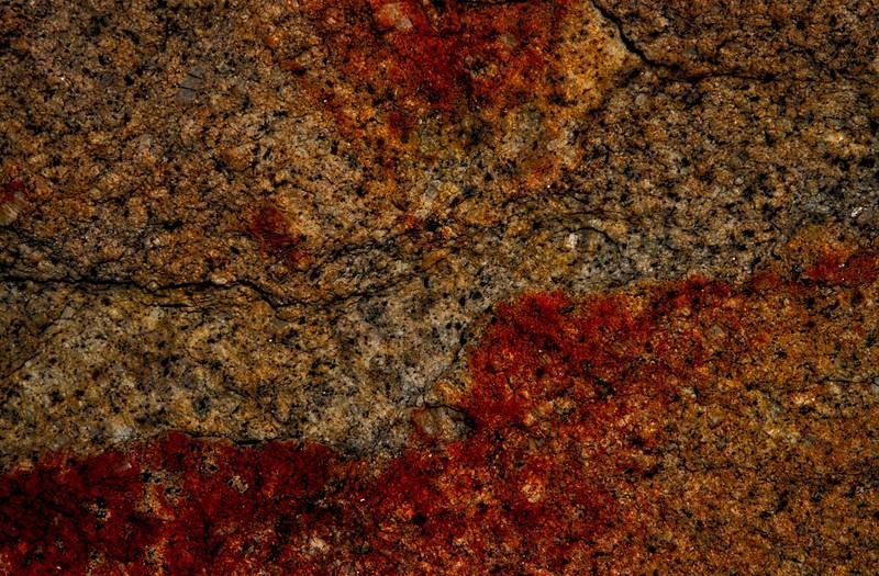 Granite. Organ Mountains, New Mexico.<br /> Photo © Carl Clark