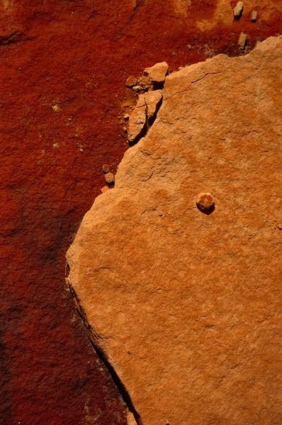 Sandstone. Zion National Park, Utah.<br /> Photo © Carl Clark