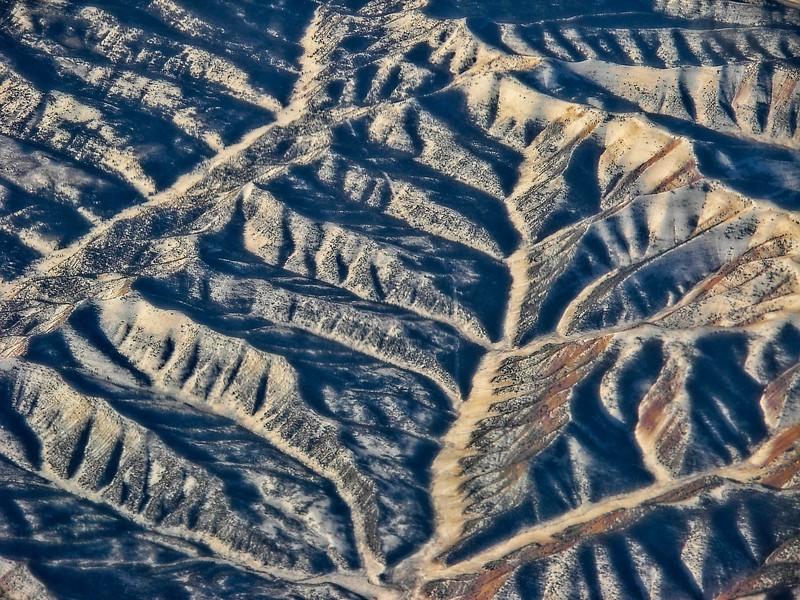 Desert Southwest aerial, USA.<br /> Photo © Carl Clark